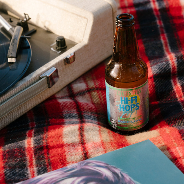 LAGUNITAS HI-FI HOPS CANNABIS-INFUSED SPARKLING WATER