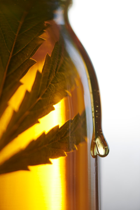 CANNABIS-INFUSED HONEY IN JAR (WITH DRIP)