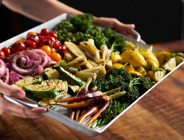 Red Door Catering Oakland, Seasonal Vegetable Platter