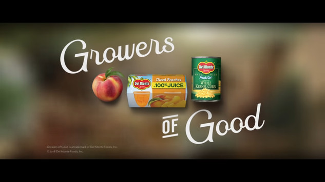 Del Monte Growers of Good Commercial 2018