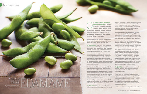 Edamame_Nutrition Magazine_Emeryville Ca