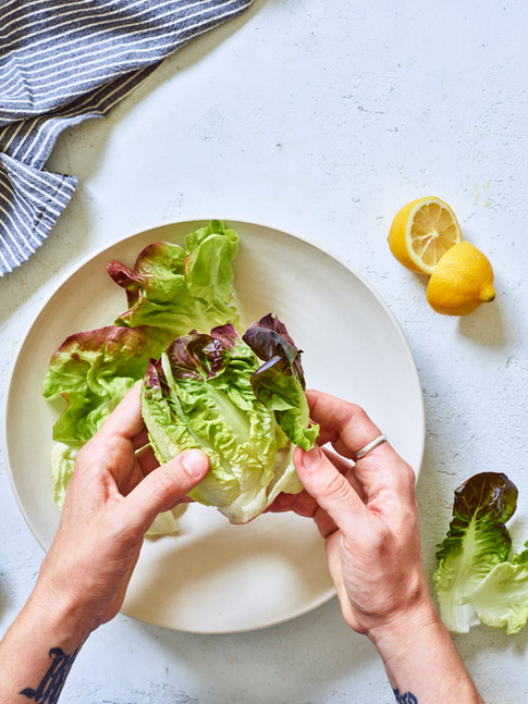 lettuce_salad_how to_make_tear_simple_el