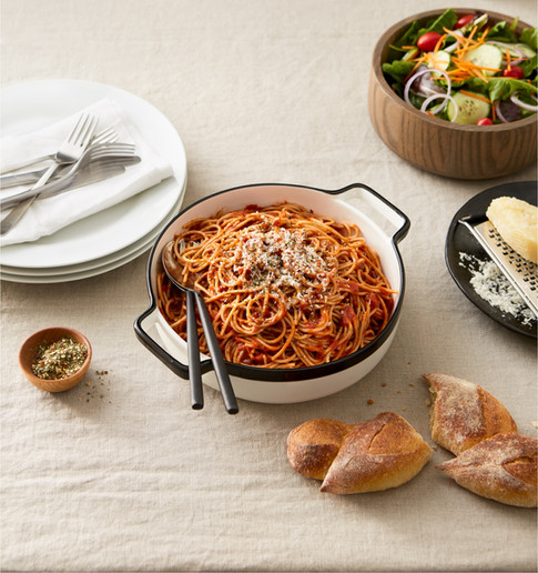 Brandless spaghetti quick easy weeknight meals