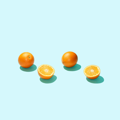 Meals on Wheels Promo Shoot. Oranges. Maren Caruso, San Francisco.