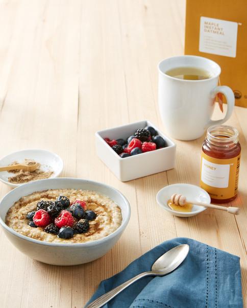 Brandless_ Oatmeal Breakfast Food Stylist San Francisco Alicia Deal