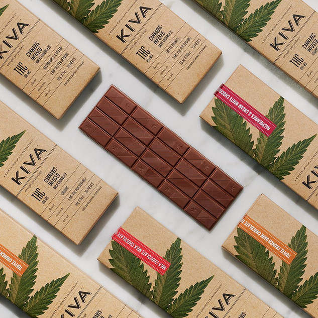 KIVA CANNABIS-INFUSED CHOCOLATE BARS
