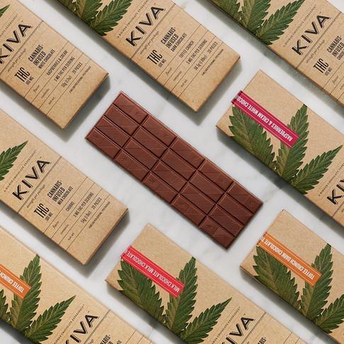 KIVA CANNABIS-INFUSED CHOCOLATE BARS