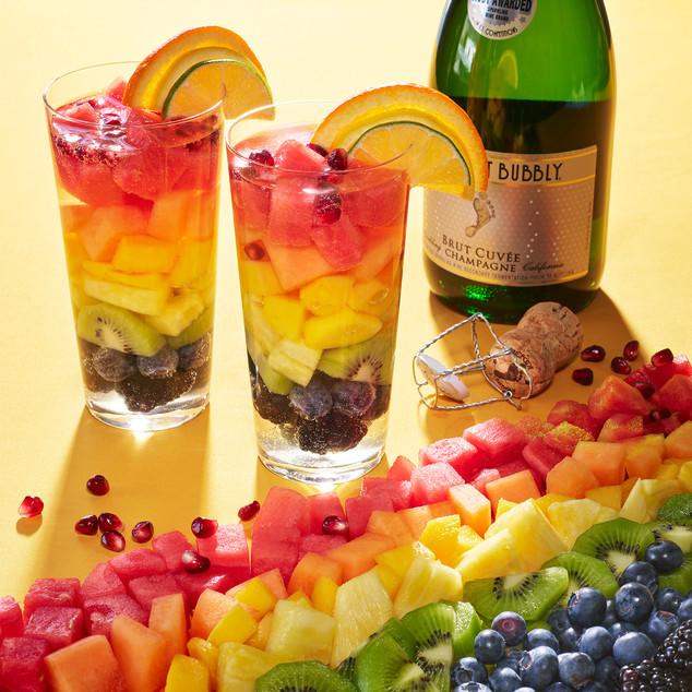 Rainbow Sangria Pride Flag Barefoot Wine