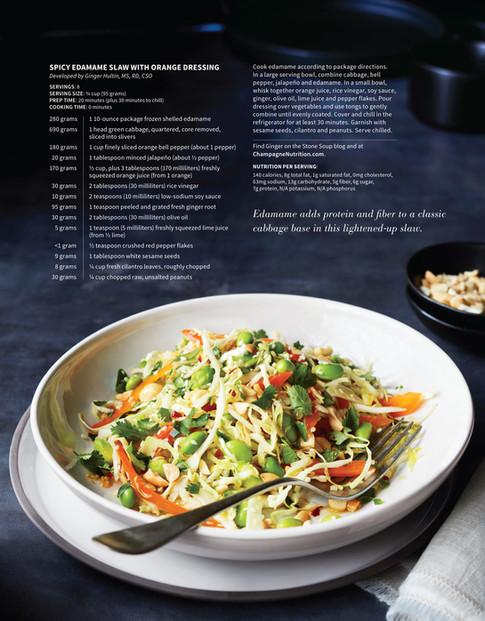 EDAMAME-salad_Nutrition Magazine_Emeryville CA