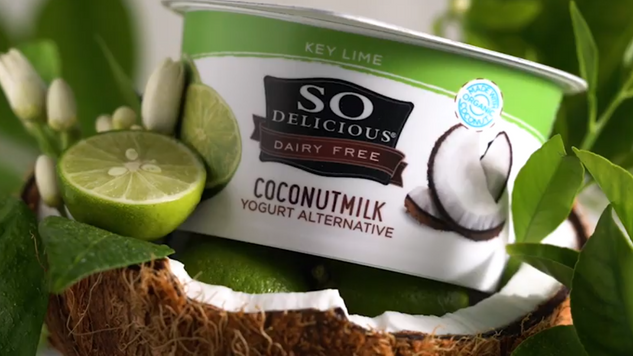 So Delicious Brand Key Lime Coconut Yogurt & Pineapple Coconut Yogurt