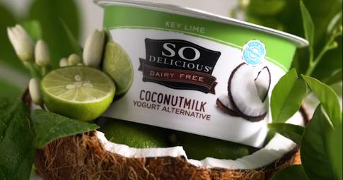 So Delicious Brand Key Lime Coconut Yogurt & Pineapple Coconut Yogurt