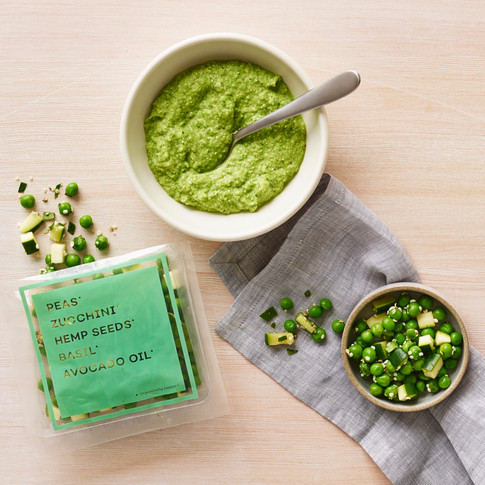 Raised Real_Pea Zucchini_baby food_stylist Alicia Deal