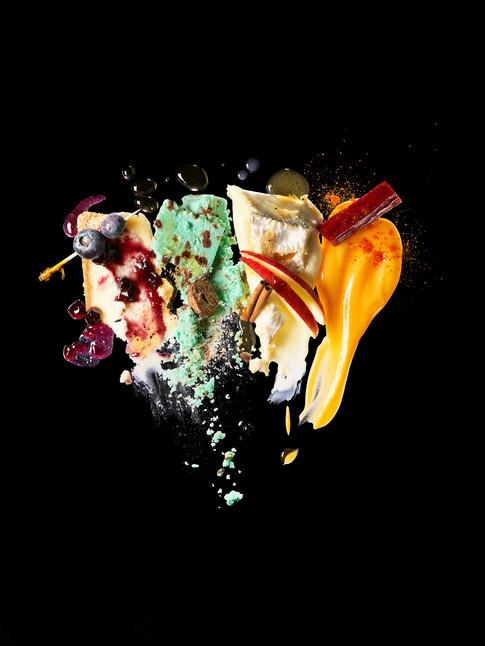 Edible Magazine Cover, Hudson Valley, New York. Maren Caruso, San Francisco.