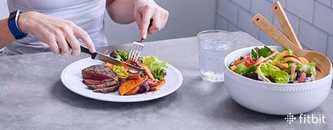 Healthy Steak Dinner for FitBit