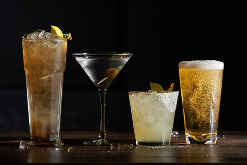 Black Angus Restaurants; Happy Hour Beverage Styling. Noel Barnhurst, Oakland CA.