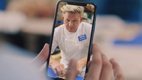 Gordon Ramsay x AT&T x iPhone11 Pro