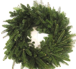 christmas trees, wreaths grave blankets