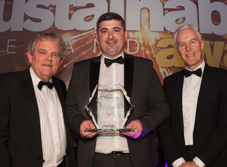 Usel awarded for Leadership in Recycling at Sustainable Ireland Awards