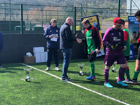 Usel support IFA Disability League Finals Day