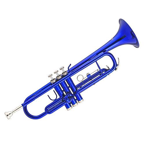 Kaizer 1000 Series Bb Trumpet - Blue Lacquer