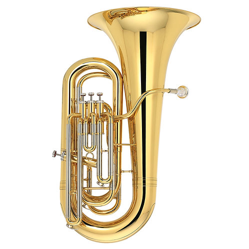 Kaizer 3000 Series EEB Tuba 3/4 - Gold Lacquer - Rose Brass - Cupronickel