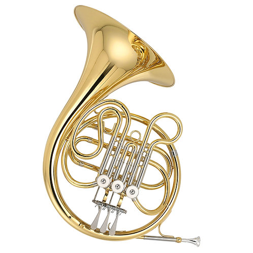 Kaizer 3000 Series F French Horn - Gold Lacquer - Rose Brass