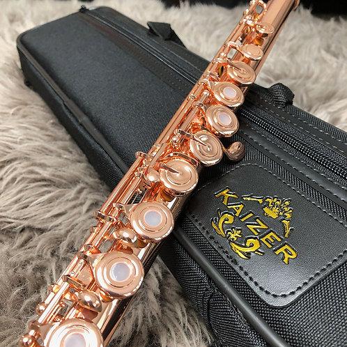 Kaizer 4000 Series C Flute - Rose Gold