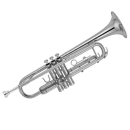 Kaizer 3000 Series Bb Trumpet - Nickel Silver