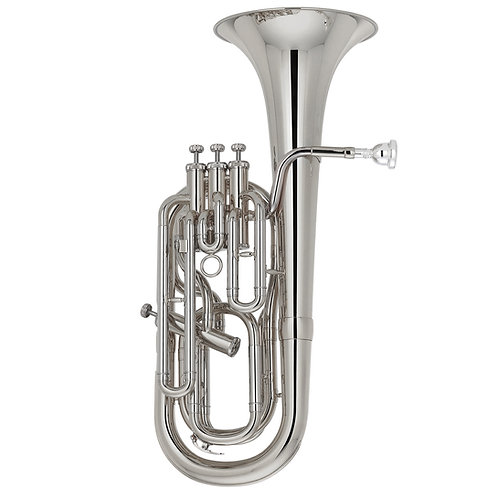 Kaizer Baritone Horn 2000 Series Bb - Nickel Plated