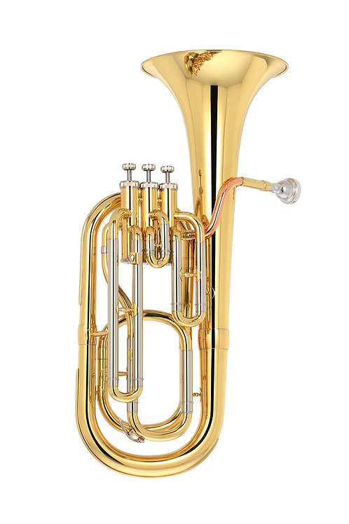 Kaizer Baritone Horn 2000 Series Bb - Gold Lacquer - Rose Brass - Cupronickel