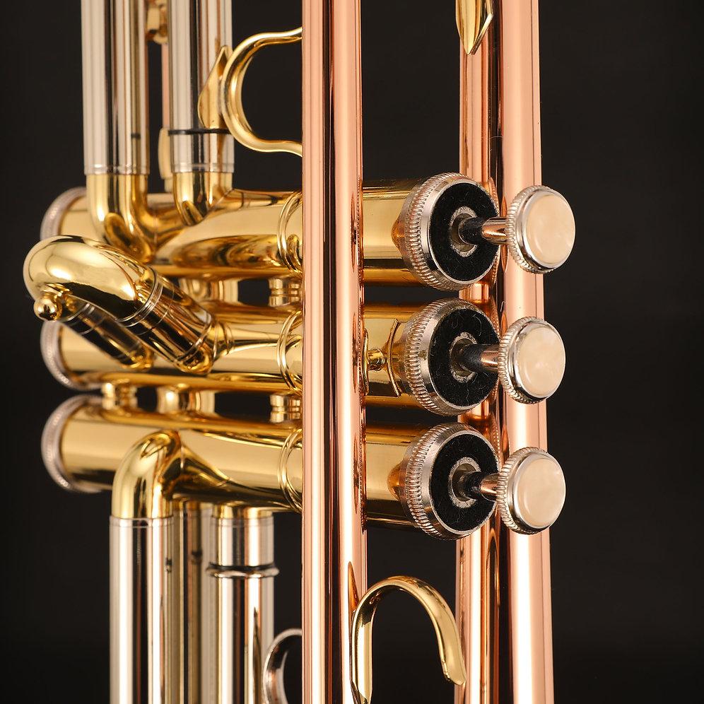 Kaizer 4000 Series Bb Trumpet - Rose Brass | kaizermusic