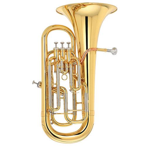 Kaizer 4000 Series Bb Euphonium - Gold Lacquer - Rose Brass - Cupronickel