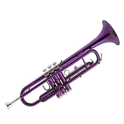 Kaizer 1000 Series Bb Trumpet - Purple Lacquer