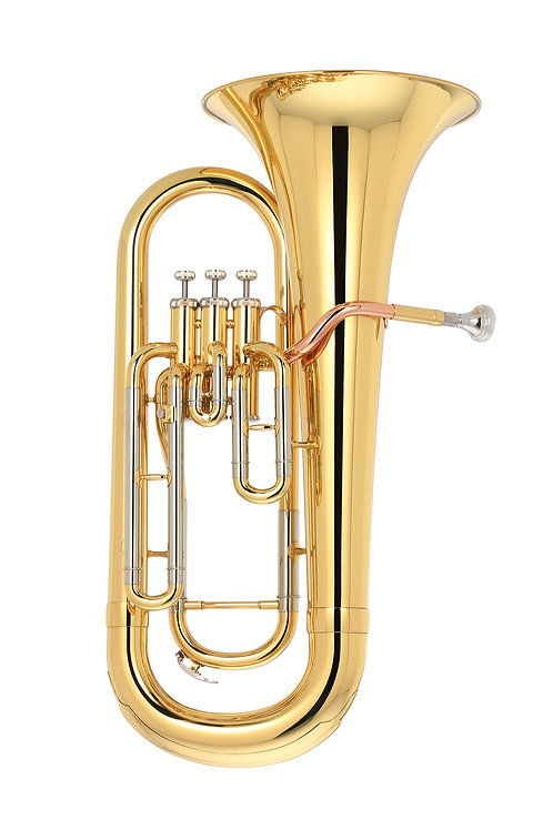 Kaizer Euphonium Bb 2000 Series - Gold Lacquer - Rose Brass - Cupronickel