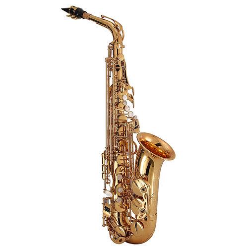 Kaizer 3000 Series Eb Alto Saxophone - Gold Lacquer