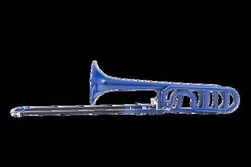 Kaizer 1000 Series Plastic Trombone Bb - Blue