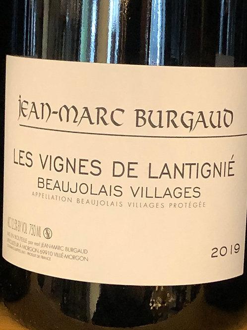 Beaujolais Village, Les Vignes de Lantignié, JM Burgaud
