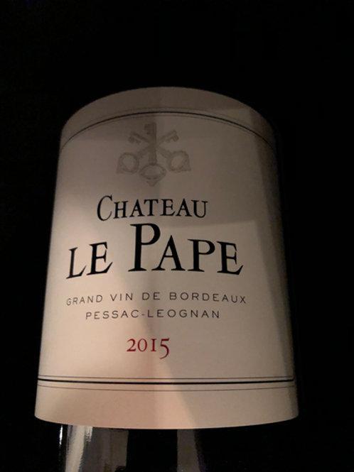 Château Le Pâpe Pessac Leognan 2016