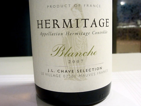 Hermitage Blanche J-L Chave 2015