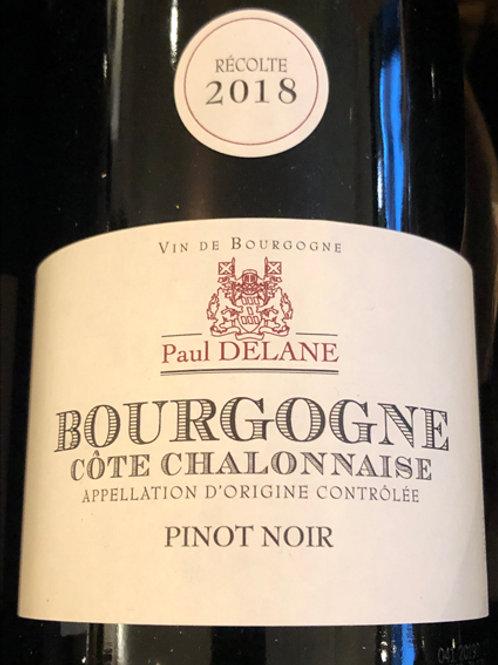 Bourgogne. Pinot noir Paul Delanne 2018