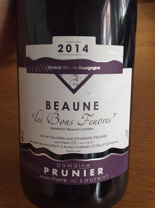 Beaune les Bons Feuvres Domaine Prunier 2017