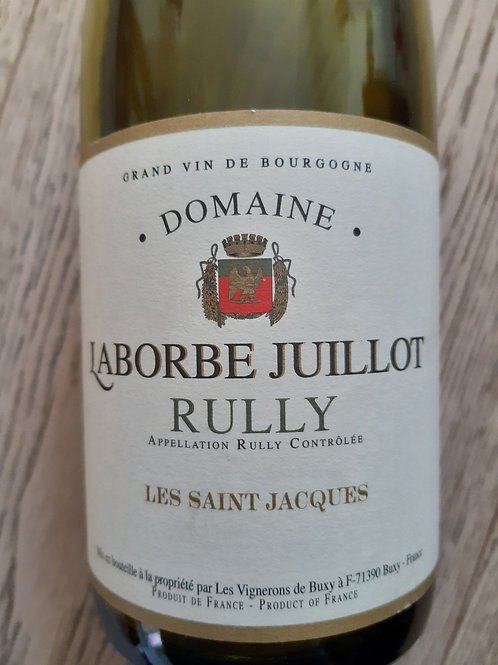 Rully Saint-Jacques Domaine Laborbe Juillot 2016