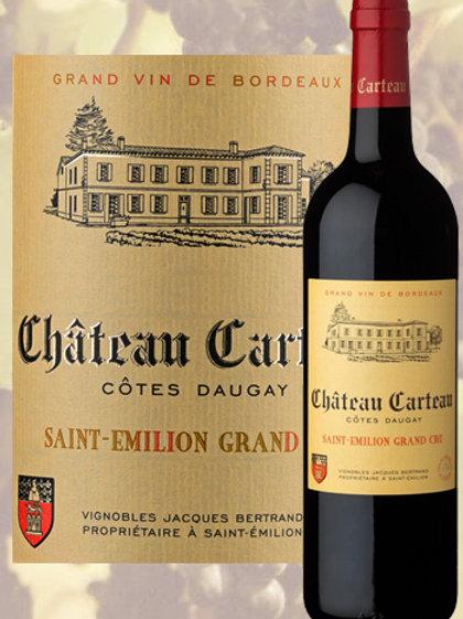 Château Carteau Saint-Emilion grand cru 2016