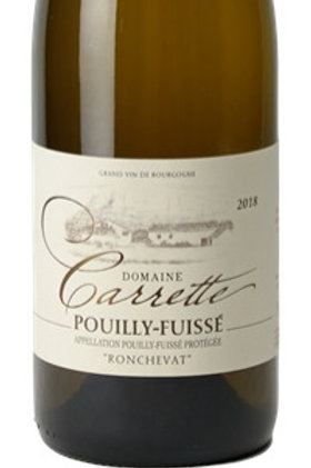 Pouilly-Fuissé Domaine Carrette Ronchevat 2017
