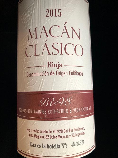 Macan clasico Rioja Vega Sicilia
