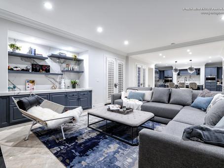 Interior Renovation Design: Kitchen & Living Room Portfolio