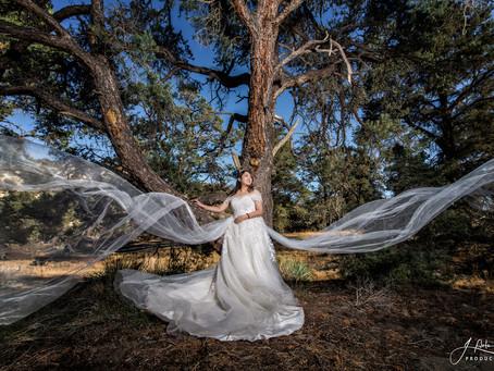 Concept pre-wedding session: Wild