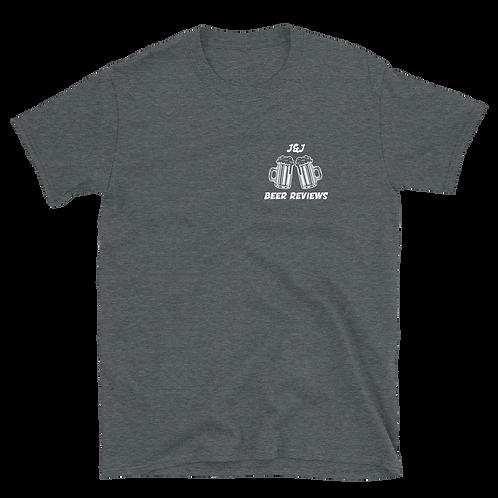 J&J Beer Reviews - Short-Sleeve Unisex T-Shirt