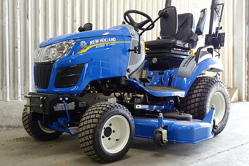 New Holland Boomer 25 with mower deck