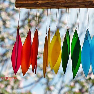 Wind Chime in Spring